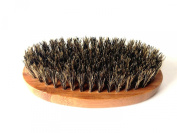 Anple Bamboo With Boar Bristles Face Massage That Works Wonders To Comb Beards and Moustache