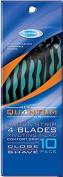 2 Count - Reliashave 4 Blade 10 Pack Men's Superior Quality Razors
