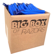 40 Box of Bulk Disposable Twin Blade Razors for Men and Women