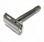 Double Edge Safety Razor - Black Pearl 8.9cm By Edward London & Co.