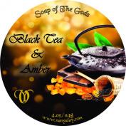 Shaving Soap of the Gods Black Tea & Amber 4.oz