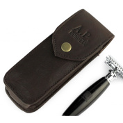 A.P. Donovan - Leather Case for Razor - travel case - leather bag