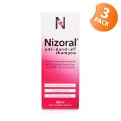 Nizoral Anti-Dandruff Shampoo Triple Pack
