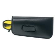 Crews Eyeglass Case w/ Belt Clip BLACK - Safety Glasses case