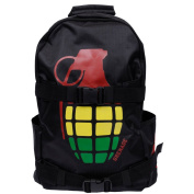 Grenade Bomb Backpack Black Mens