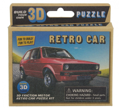 westminster build your own wind up 3d model retro mini car kids model fun 3d toy