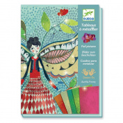 Djeco Foil Art Kit, Fireflies