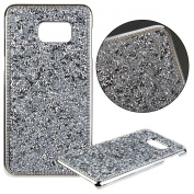 S6 Edge+ Case,Galaxy S6 Edge Plus Case,UZZO Luxury Diamond Bling Hard Shiny Sparkling with Crystal Rhinestone Hard Case Skin Cover for Samsung Galaxy S6 Edge Plus