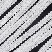 WellieSTR White Gimp Braid Trim, 1.2cm X 20Yards