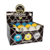 Spalding NBA Glow in Dark Hi Bounce Ball Assorted