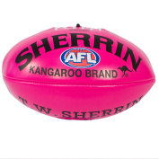 Sherrin Soft touch AFL Football Pink 25cm