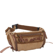 Vagabond Traveller Stylish Trapezium Canvas Waist Pack
