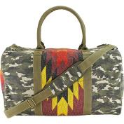 Tigerbear Republik Zeppo Women Green Duffel Bag