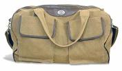 ZeppelinProducts UAU-BWX1-KHK Auburn Duffel Bag Waxed Canvas, 21 x 15 x 12