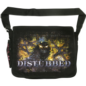 Disturbed Indestructible Chain Messenger Bag Black