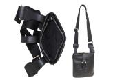 DOPP Unisex Leather Brookfield Urban Messenger Bag, Brown