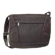Iris Tyler Unisex Leather Messenger Bag