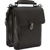 Mancini Leather Goods Classic Unisex Travel Bag