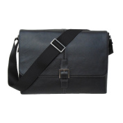 Boconi Tyler Tumbled Single Buckle Messenger