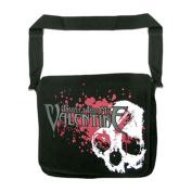 Bullet For My Valentine Skulls Splatter Messenger Bag Black