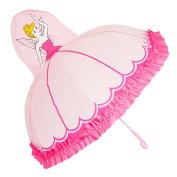 Kiddi Choice 3D PopUp Princess Cute Umbrella, Pink