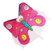 Kiddi Choice 3D PopUp Butterfly Cute Umbrella, Purple/Pink