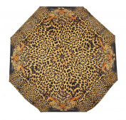 Leopard Print Feline Faces Super Mini Travel Umbrella