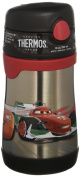 THERMOS Vacuum Insulated Stainless Steel 300ml Straw Bottle, Cars