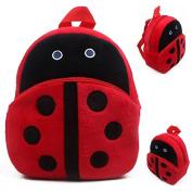 Girl Ladybug Useful School/kindergarten Satchel for Kids 23cm