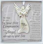 The Grandparent Gift Boxed Wall Hanging, First Communion Angel