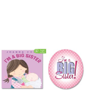 I'm A Big Sister Book and Button