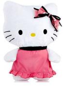 Hello Kitty Furry Kitty Decorative Pillow