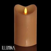 Modern Home Illumina Flameless Pillar Candle w/Moving Wick