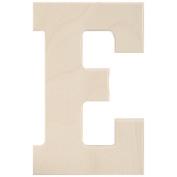 Baltic Birch University Font Letters & Numbers 13cm -Letter E