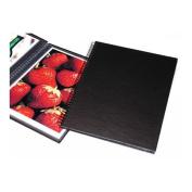 Wire Bound Portfolio Edition Album, 11x14 Format, Black, with Twelve Pages, Dimensions