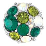 Ginger Snaps Petite Vintage Brooch Green Snap GP05-23 Jewellery