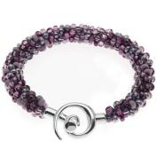Beaded Kumihimo Bracelet (Purple Tones) - Exclusive Beadaholique Jewellery Kit