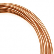 Artistic Wire, Copper Craft Wire 10 Gauge Thick, 1.5m Spool, Bare Copper