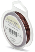 Artistic Wire Rich Brown Colour Copper Craft Wire 26 Gauge - 30 Yards