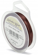 Artistic Wire Rich Brown Colour Copper Craft Wire 26 Gauge - 30 Yards