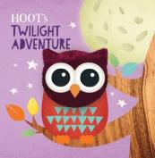 Hoot's Twilight Adventure Puppet Book [Board book]
