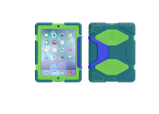 Mariner Blue/Bright Green Survivor All-Terrain Case + Stand for iPad 2, 3, and (4th gen.) - Military-duty case with stand