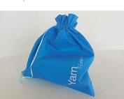 Della Q Edict Project Bags (#118-1) Yarn Hoar-Ocean