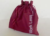 Della Q Edict Project Bags (#118-1) Work Less Knit More-Red