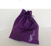 Della Q Edict Project Bags (#118-1) Yarn Hoar-Purple
