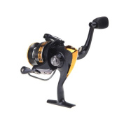 Ryask(TM) UK 9BB Ball Bearings Left/Right Interchangeable Collapsible Handle Fishing Spinning Reel Reels LJ3000 5.2:1