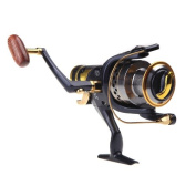 Ryask(TM) UK Ball Bearings Left/Right Interchangeable Collapsible Handle Fishing Spinning Reel Reels SW50 5.2:1