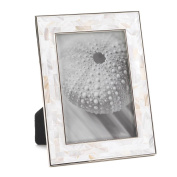 Mother Of Pearl Mosaic Frame 13cm X 18cm