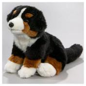 Soft Toy Bernese Mountain Dog Puppy, 21cm. [Toy]