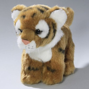 Soft Toy Tiger brown Baby 16cm. [Toy]
